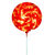 Fiberglass Lollipop Swirl Decoration
