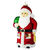 Large Santa Christmas Ornament
