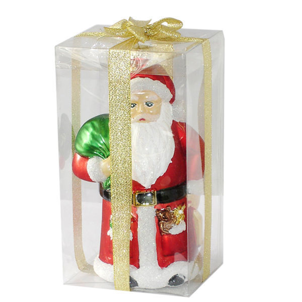 Large Santa Christmas Ornament Image