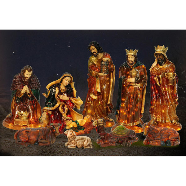 Fiberglass Nativity Ox Image