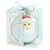 Santa Disc Christmas Ornament