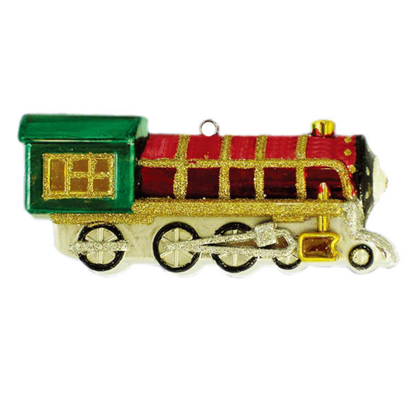 Train Engine Christmas Ornament Image