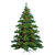 7.5 ft. Artificial Half Christmas Tree