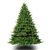 9 ft. x 72 in. Artificial Christmas Tree