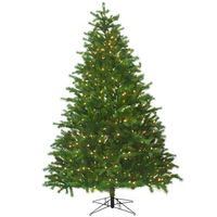 7.5 ft. x 60 in. - Conrad Fir - 2183 Realistic Molded Tips - 600 Clear Incandescent Mini Lights - Barcana Artificial Christmas Tree