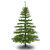 8 ft. x 54 in. Artificial Christmas Tree