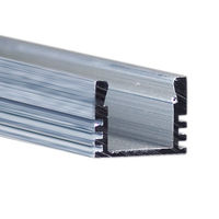 3.28 ft. Non-Anodized Aluminum PDS4-ALU Channel - For LED Tape Light and Strip Light - Klus B1718