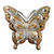 Butterfly Clip Christmas Ornament