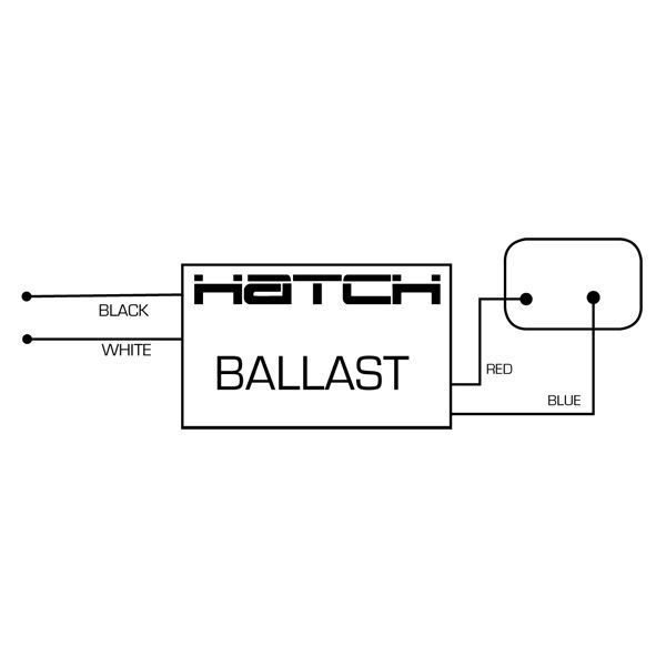 Hatch MC20-1-T-120Z - 20 Watt - Electronic Metal Halide Ballast Image