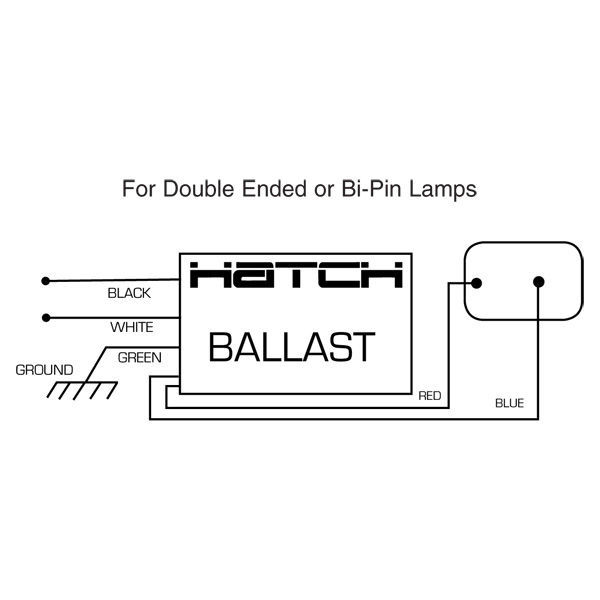 Hatch MC39-1-F-UNLU - 39 Watt - Electronic Metal Halide Ballast Image