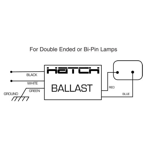 Hatch MC70-1-F-277U - 70 Watt - Electronic Metal Halide Ballast Image