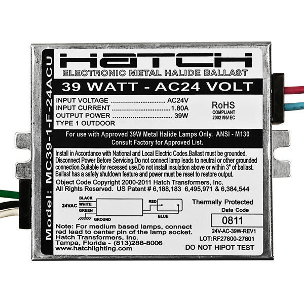 Hatch Mini MC39-1-F-24ACU Image