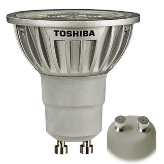 Toshibaa 7GU10/827NFL25 - 6.5 Watt - 120 Volt - GU10 Base - Dimmable LED - MR16 - Warm White - Narrow Flood - 1050 Candlepower - 20 Watt Equal