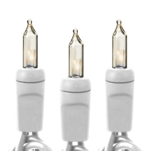 23 ft. String Lights - (100) Mini Lights - CLEAR Image