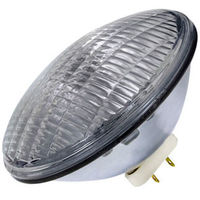 GE 39412 - 500 Watt - PAR64 - Wide Flood - Incandescent - Sealed Beam - 2,000 Hours - 13,000 Candlepower - 2800 Kelvin