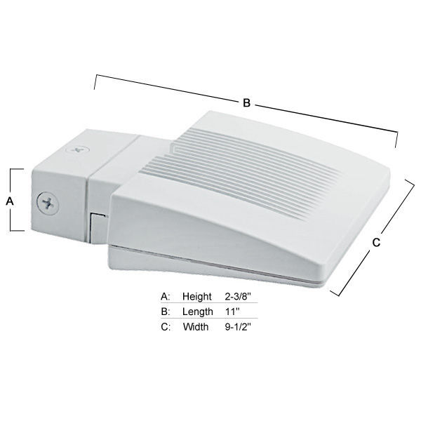 26 Watt - LED - Wall Pack - 175W  Equal Image