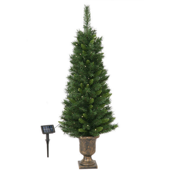 4 ft. x 20 in. - Potted Artificial Christmas Tree Image