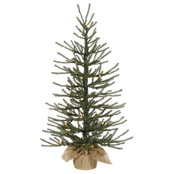 18 in. x 12 in. Potted Christmas Tree Image