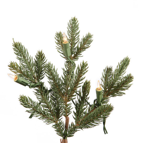 6 ft. Potted Artificial Christmas Tree Image