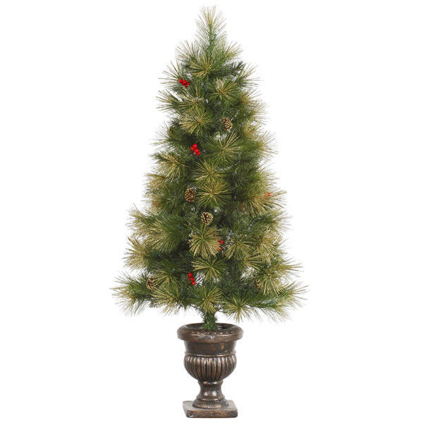 4.5 ft. Potted Artificial Christmas Tree Image