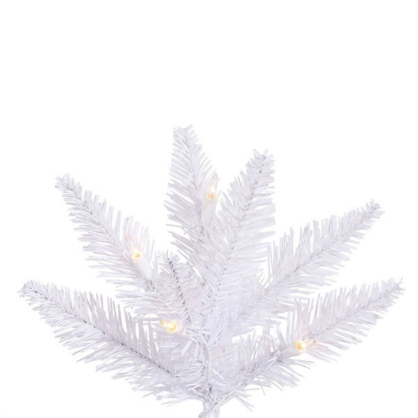7.5 ft. x 40 in. White Christmas Tree Image