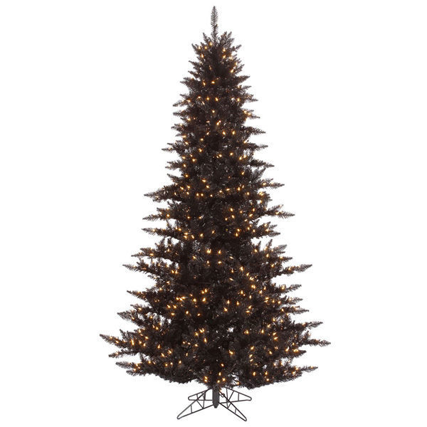 4.5 ft. x 34 in. Black Christmas Tree Image