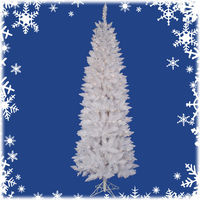 6 ft. x 30 in. - Sparkle White Spruce - 392 Classic Tips - 250 Clear Incandescent Mini Lights - Vickerman Artificial Christmas Tree