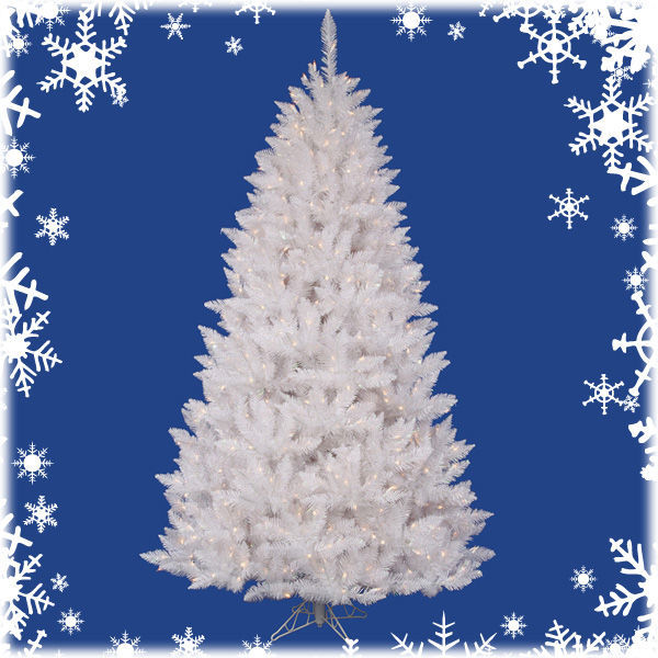3.5 ft. x 24 in. White Christmas Tree Image