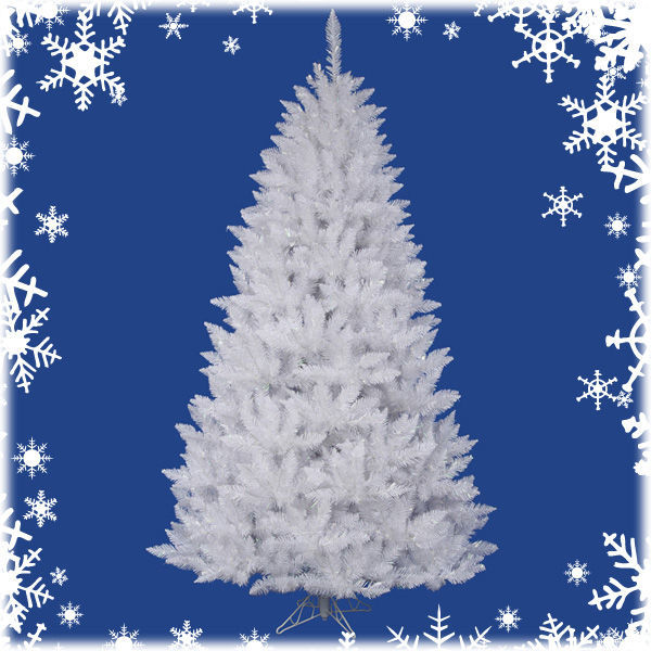 5.5 ft. White Christmas Tree Image