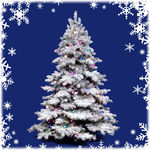 10 ft. x 84 in. Artificial Christmas Tree Image