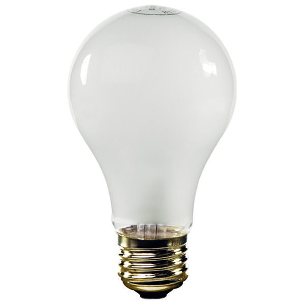 60 Watt Light Bulb Frost 20 000 Hours