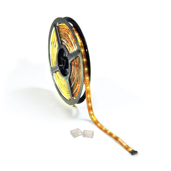 16 ft. - 3000K Warm White - LED - High Output - Tape Light - Dimmable - 24 Volt Image