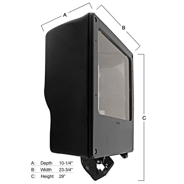 RAB FNH1000QT - Metal Halide Flood Light Image