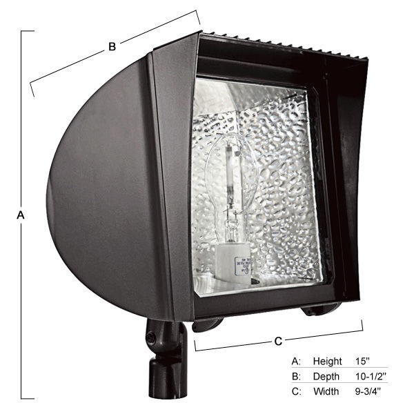Are Metal Halide Lights Dangerous: Flood Fixture