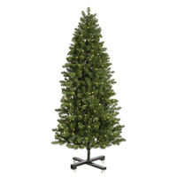 6.5 ft. - Slim Grand Teton Pine - 876 Classic Tips - 550 Warm White LED Mini Lights - Vickerman Artificial Christmas Tree