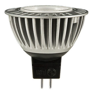 LG - 4.4 Watt - LED - MR16 - 3000K Warm White - Flood - 420 Candlepower - 20 Watt Equal - 12 Volt