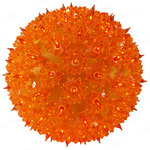 (50) ORANGE Mini Lights - 6 in. dia. Starlight Sphere Image