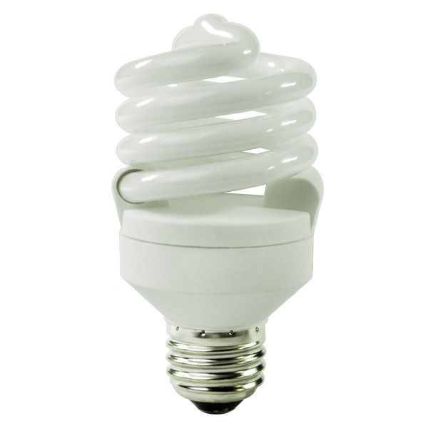 Spiral CFL - 18 Watt - 75W Equal - 4100K Cool White Image