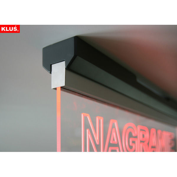 3.28 ft. Non-Anodized Aluminum EX-ALU Channel Image