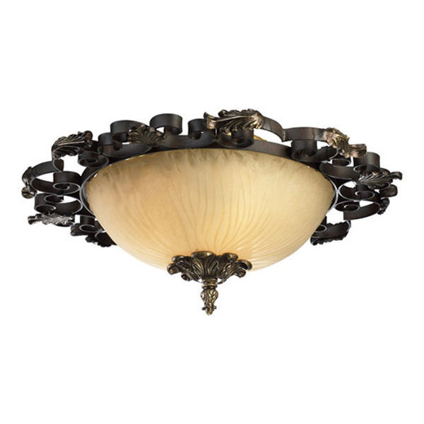 Quorum 3891-25-44 Flush Mount Ceiling Fixture Image