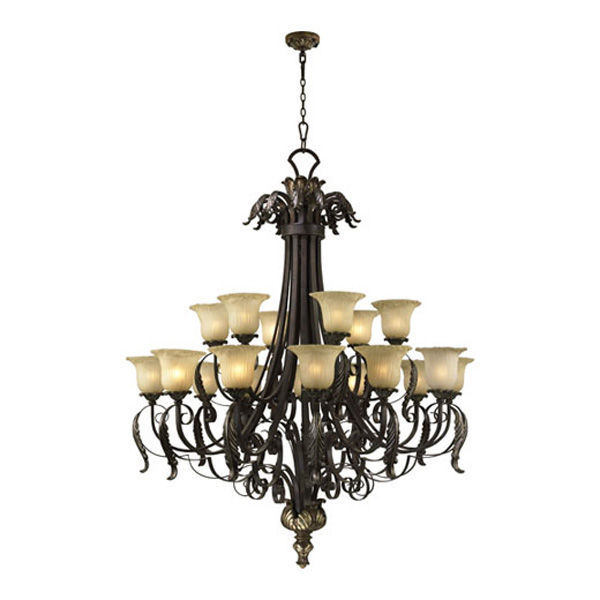 Quorum 6091-18-44 - 2 Tier Chandelier Image