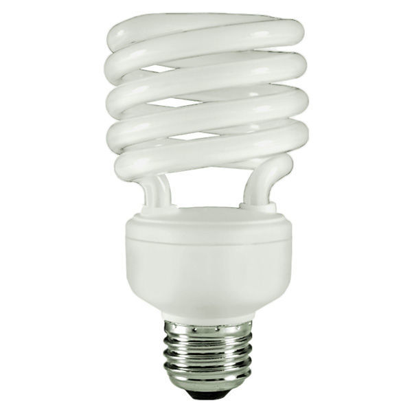 T2 Spiral CFL - 23 Watt - 100W Equal - 6500K Full Spectrum Daylight Image