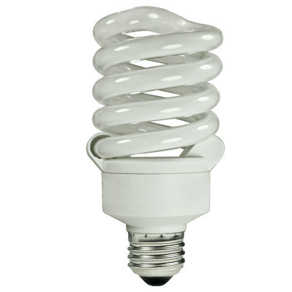 Spiral CFL - 23 Watt - 100W Equal - 5000K Full Spectrum Image