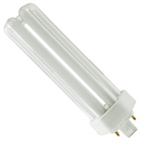 Ushio 3000223 - CF42TE/827 - 42 Watt - 4 Pin GX24q-4 Base - 2700K - CFL
