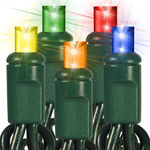 (48) Bulbs - LED - Multi-Color Wide Angle Mini Lights Image