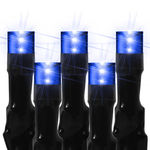(128) Bulbs - LED - Blue Wide Angle Meteor Shower Lights Image