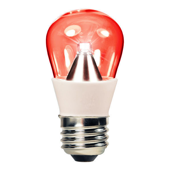 1.3 Watt - LED - S14 - Red - 25 Lumens Image