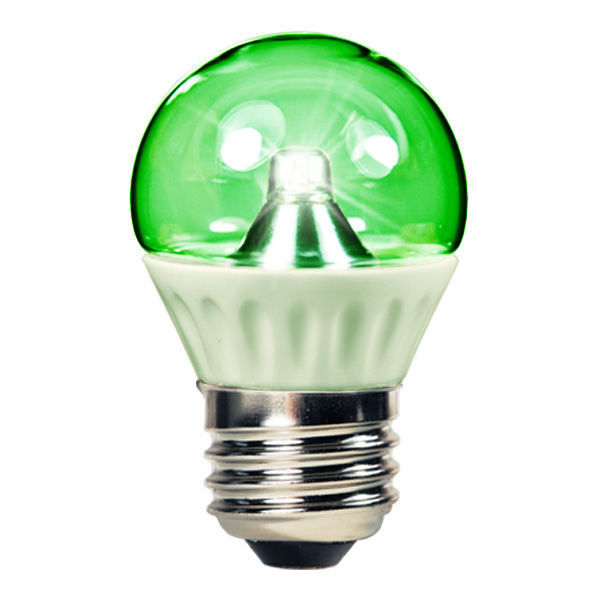 1.3 Watt - LED S11 - Green - 15W Equal Image