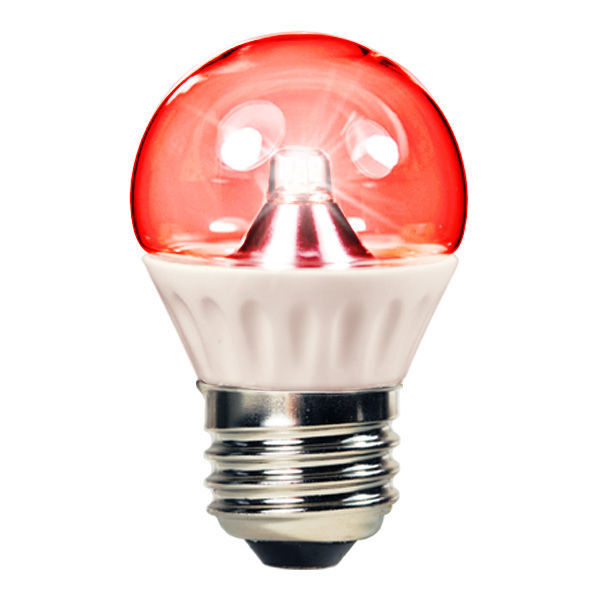1.3 Watt - LED - S11 - Red - 25 Lumens Image