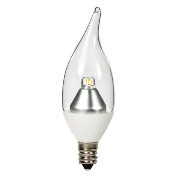 LED - 1 Watt - Clear Bent Tip Torpedo - 25 Watt Equal Image